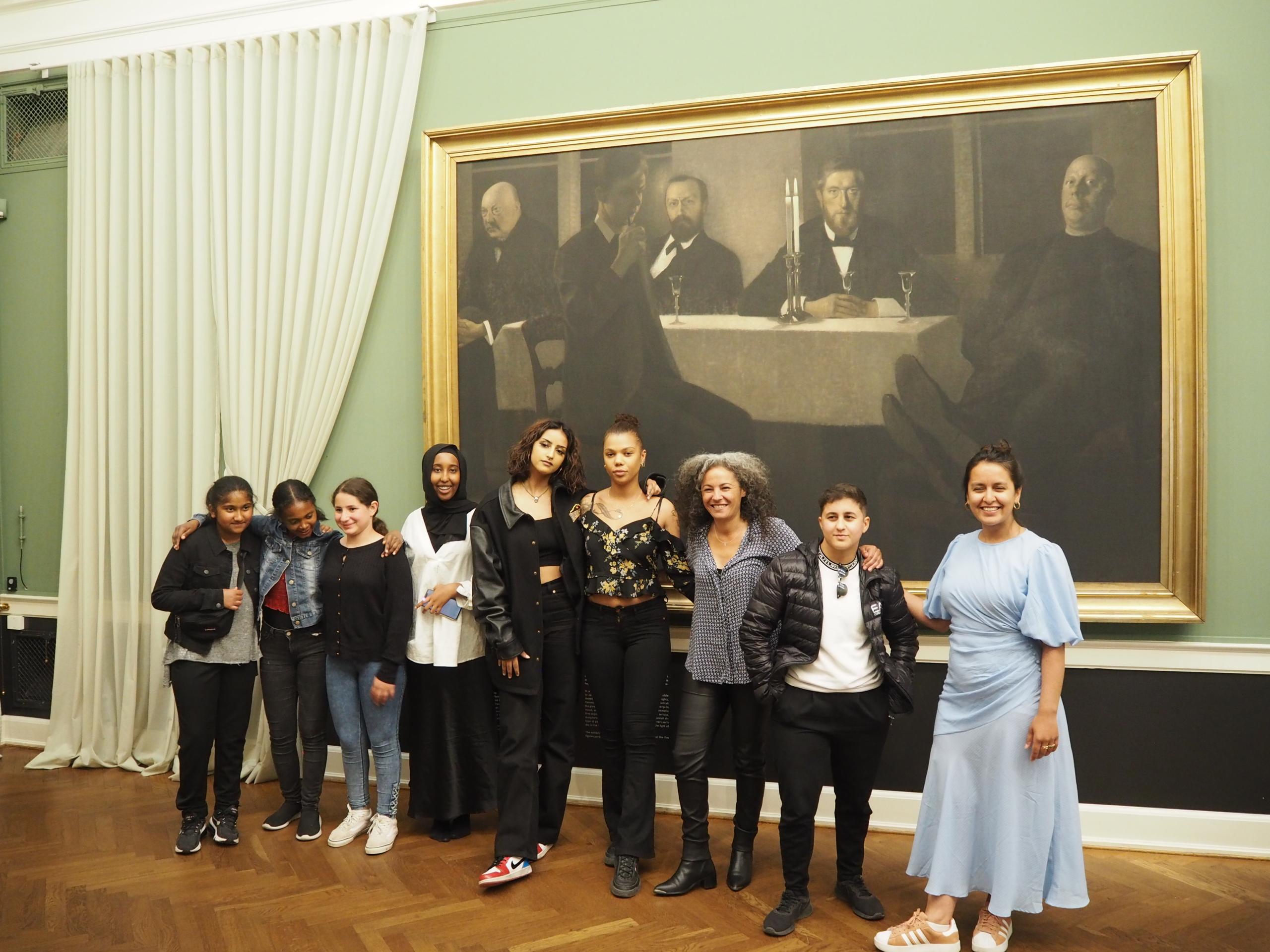 kvindelige pionerer, den hirschsprungske samling